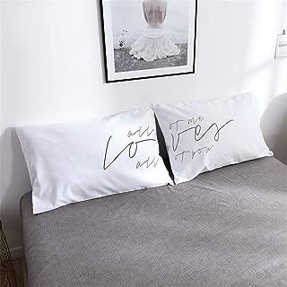 Best pillow cases couple Reviews