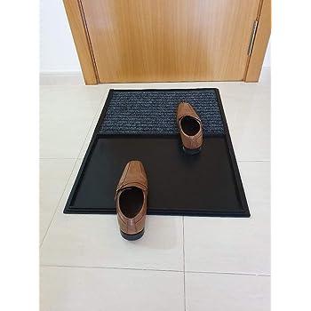 Aido - Alfombras desinfectantes – felpudos Entrada casa – Alfombra desinfectante – Felpudo – Felpudo desinfectante – Felpudo desinfectante Zapatos – 100% fabricación en ESPAÑA.: Amazon.es: Hogar