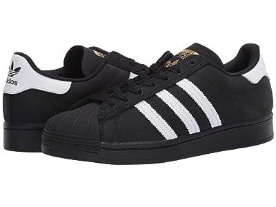 adidas Skateboarding Superstar (Core Black/Footwear White/Gold Metallic) Men