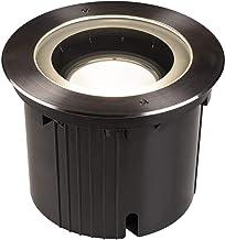 SLV Vloerinbouwlamp DASAR® 270 / LED-spot voor terras, outdoor spot, inbouwlamp tuin, vloerlamp voor buiten / IP65 / IP67 ...