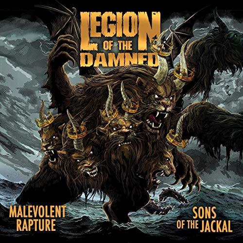 Legion of the Damned: Malevolent Rapture/Sons of the Jackal (Audio CD)