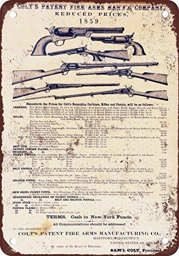 SIGNCHAT 1961 Winchester Model 59 Shotguns Vintage Look Riproduzione Metal Tin Sign Sign 20,3 x 30,5 cm, U5027, 8X12 Inches