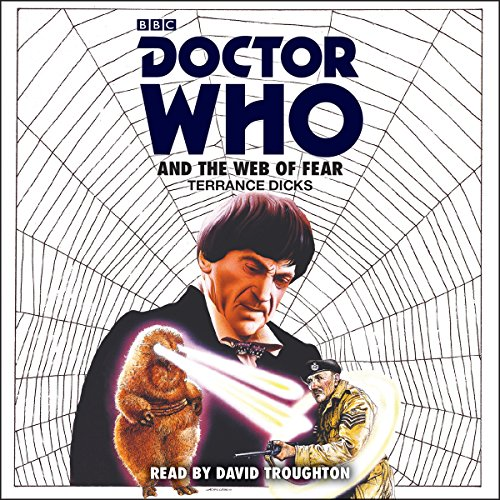 Doctor Who and the Web of Fear audiobook cover art