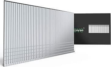 MProve Heavy Duty 16-Guage 1-3/4in (45mm) Electro-Galvanized Straight Finish Nails [2,500 Nails]