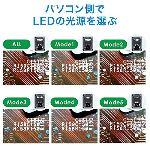 SANWASUPPLY(サンワサプライ)『USBマイクロスコープ(400-CAM058)』