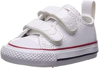Converse Kids' Chuck Taylor All Star 2v Leather Low Top Sneaker