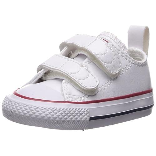 636f2b1cdaaf6b Converse Kids  Chuck Taylor All Star 2v Leather Low Top Sneaker