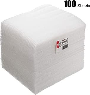 Lekzai 100 Pack of Foam Wrap Sheets 12