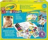 Crayola - Mini Kids - Mon premier coffret de coloriage et de gommettes - Coloriage pour enfant et tout petit - 256287.006