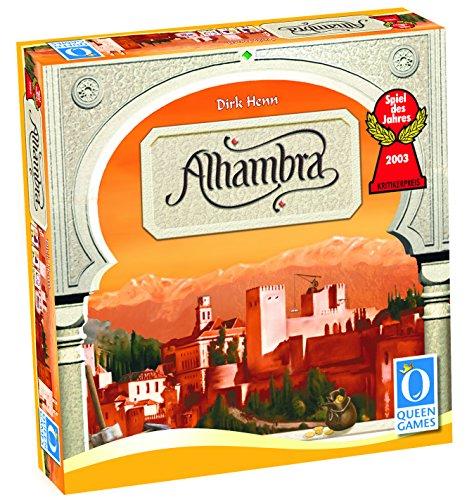 Der Palast von Alhambra. Spiel des Jahres 2003. Für 2-6 Spieler ab 8 Jahren.