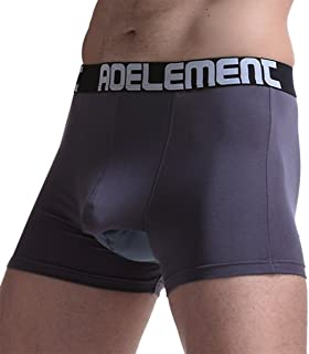 AOELEMENT Men's Comfortable Underwear Modal Pouch Trunks