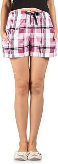 Nite Flite Pink Checks Shorts