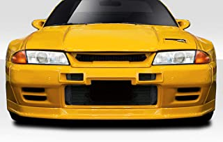 Extreme Dimensions Duraflex Replacement for 1989-1994 Nissan Skyline R32 TKO RBS Wide Body Front Lip Under Spoiler - 1 Piece
