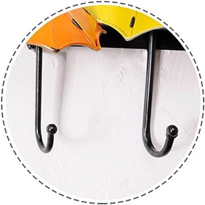 Ganci decorativi in ghisa Shabby Chic Dorato Metallico Bianco Rustico Set di 3 -Viti e ancore per il montaggio incluso Grandi ganci decorativi appesi Rustico Fascino di campagna francese