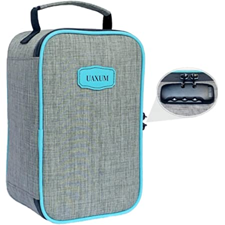 Smell Proof Bag with Combination Lock - Odor Proof Medicine case Container - No Embarrassing Odors Any More