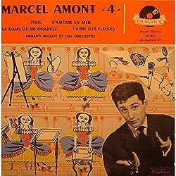MARCEL AMONT 4 julie/l'amour en mer/la dame de Rig-orangis EP 7