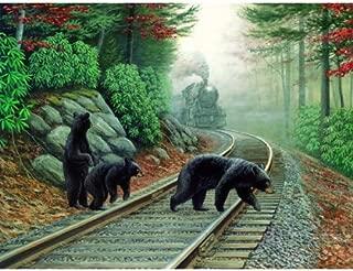 SUNSOUT INC Bear Tracks 500 pc Jigsaw Puzzle