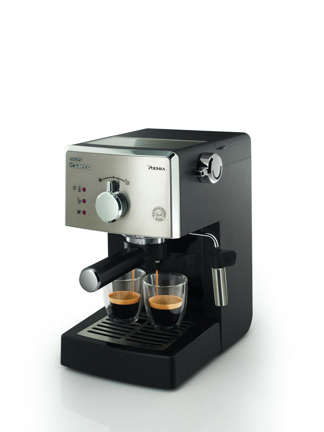 Saeco Poemia HD8325/47 - Cafetera (Independiente, Máquina espresso ...