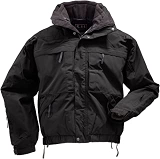 Men's 5-in-1 All-Weather Adapatable Jacket - Zip-Off Sleeves, Removable Fleece, Style 48017
