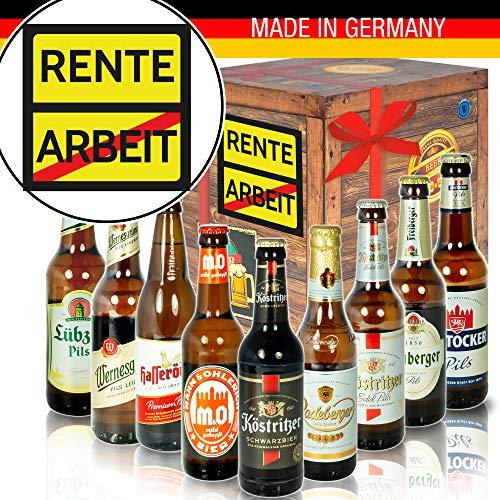 Rente - Ost-Deutsche Biere - Geschenk Ruhestand