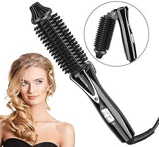 Plegable Mini de pelo de rulos, Térmico de cerámica eléctrica anti Quemaduras negativos litio rulos para cabello, sedoso caliente Styling