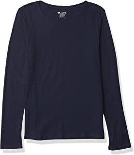 The Children's Place girls Long Sleeve Layering Tee T-Shirt