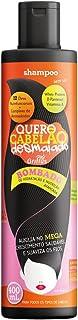 Quero Cabelão Desmaiado Shampoo, Griffus Cosméticos, Multicor, 400 ml