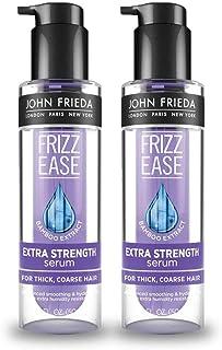 John Frieda Frizz-Ease Extra Strength Hair Serum, 1.69 oz, 2 Pack