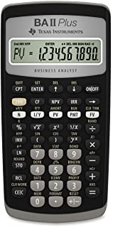 Best texas instruments financial calculator baii plus professional Reviews