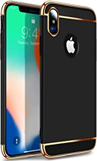 Iphone XS Black Hard PC Case Cover