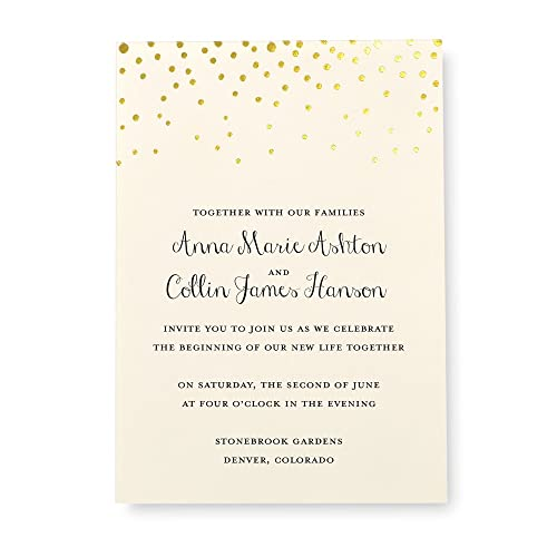 Gartner Studios Wedding Invitation Kits Amazon