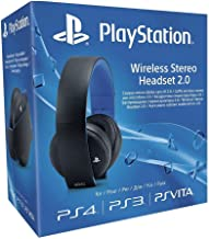 Official Sony PlayStation Wireless Stereo Headset 2.0 for PS4 PS3 PS Vita