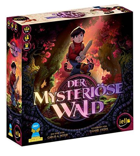 IELLO 513459 Der mysteriöse Wald Spiel-Deutsche Ausgabe, bunt
