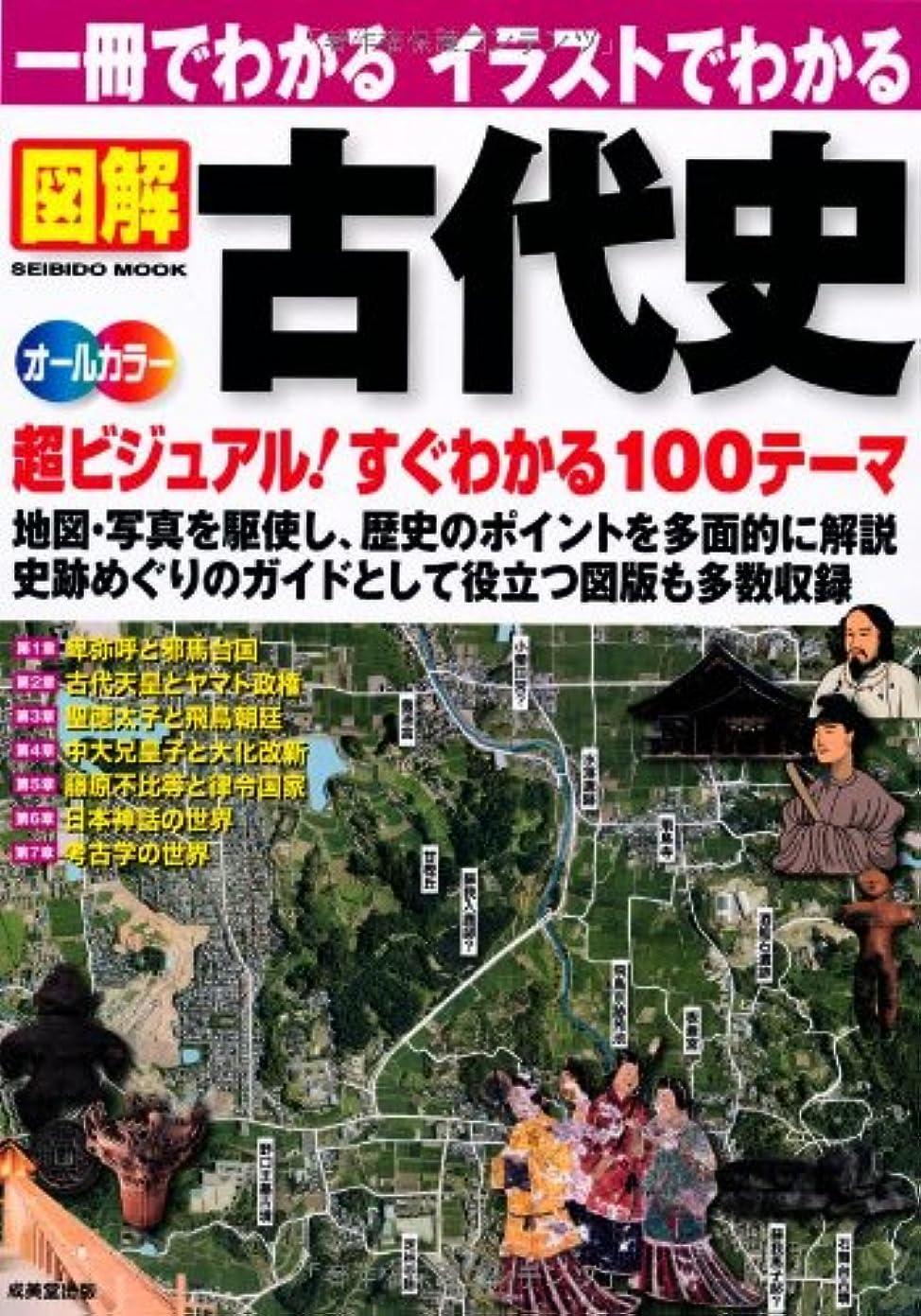 クラックメーカーメロドラマ一冊でわかる イラストでわかる 図解 古代史 (SEIBIDO MOOK)