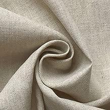 ハンドメイド用生地 150cm巾 リネン58%コットン42% 無地 ナチュラル 薄地 R0053(旧品番 N-350)