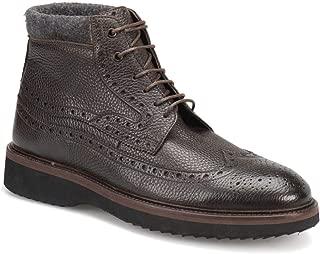 MERCEDES LEAN Kahverengi Erkek Deri Ayakkabı