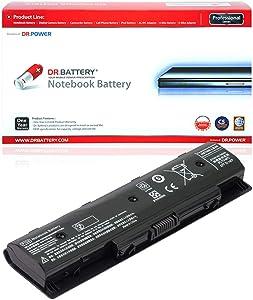 DR. BATTERY 710416-001 PI06 Battery Compatible with HP Envy 15 17 Pavilion 14 15 17 710417-001 HSTNN-UB4N HSTNN-LB40 HSTNN-LB4N HSTNN-LB4O 709988-421 TPN-I112 TPN-Q122 [10.8V/4400mAh/48Wh]