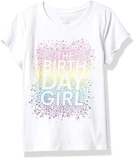 The Children's Place Girls' Birthday Graphic Tee