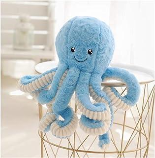 "HYL World 15.7"" Plush Cute Octopus Dolls Soft Toy Stuffed Marine Animal for Home Decor Christmas Birthday Gifts One Size B..."