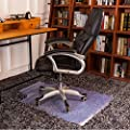 Art To Real Hard Floor Chair Mat with Lip