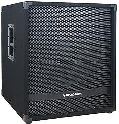 cheap Sound Town METIS Series 2400W, 18inch Active Subwoofer, Class D Amplifier, 4inch Voice …