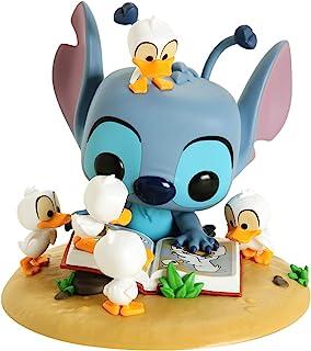 Funko POP! Disney: Lilo & Stitch - Stitch with Ducks Deluxe #636 Exclusive Special Edition