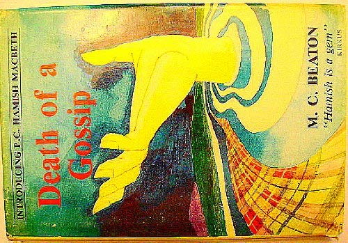 Death of a Gossip 0951446401 Book Cover