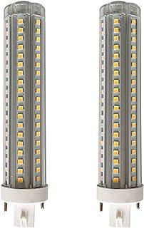 JQslight LED G24q PL Lamp 4 Pin, 20W Gx24 LED Bulb 40w CFL/Compact Fluorescent Lamp Replacement LED PL Horizontal Recessed...