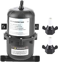 Ackumulatortrycktank Vattenpump Flödeskontroll 0,75 L 125PSI 1 / 2in gängad MNPT, för marin husbåt, luftfuktare, vattenrening