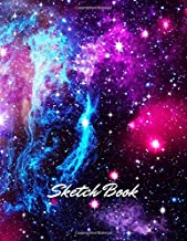 Sketch Book: Notebook for Drawing, Writing, Painting, Sketching or Doodling, 110 Pages, 8.5x11 (Premium Abstract Cover vol.30)