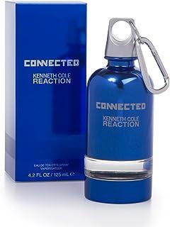 Kenneth Cole Reaction Connected Eau De Toilette Spray for Men, 4.2 Ounce