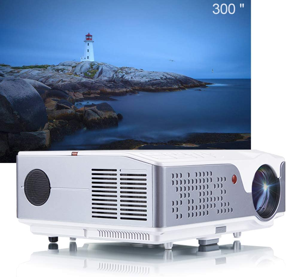 FLZEN 6000 Lumens 1080 Resol Native Branded goods Projector 40% OFF Cheap Sale 1920x