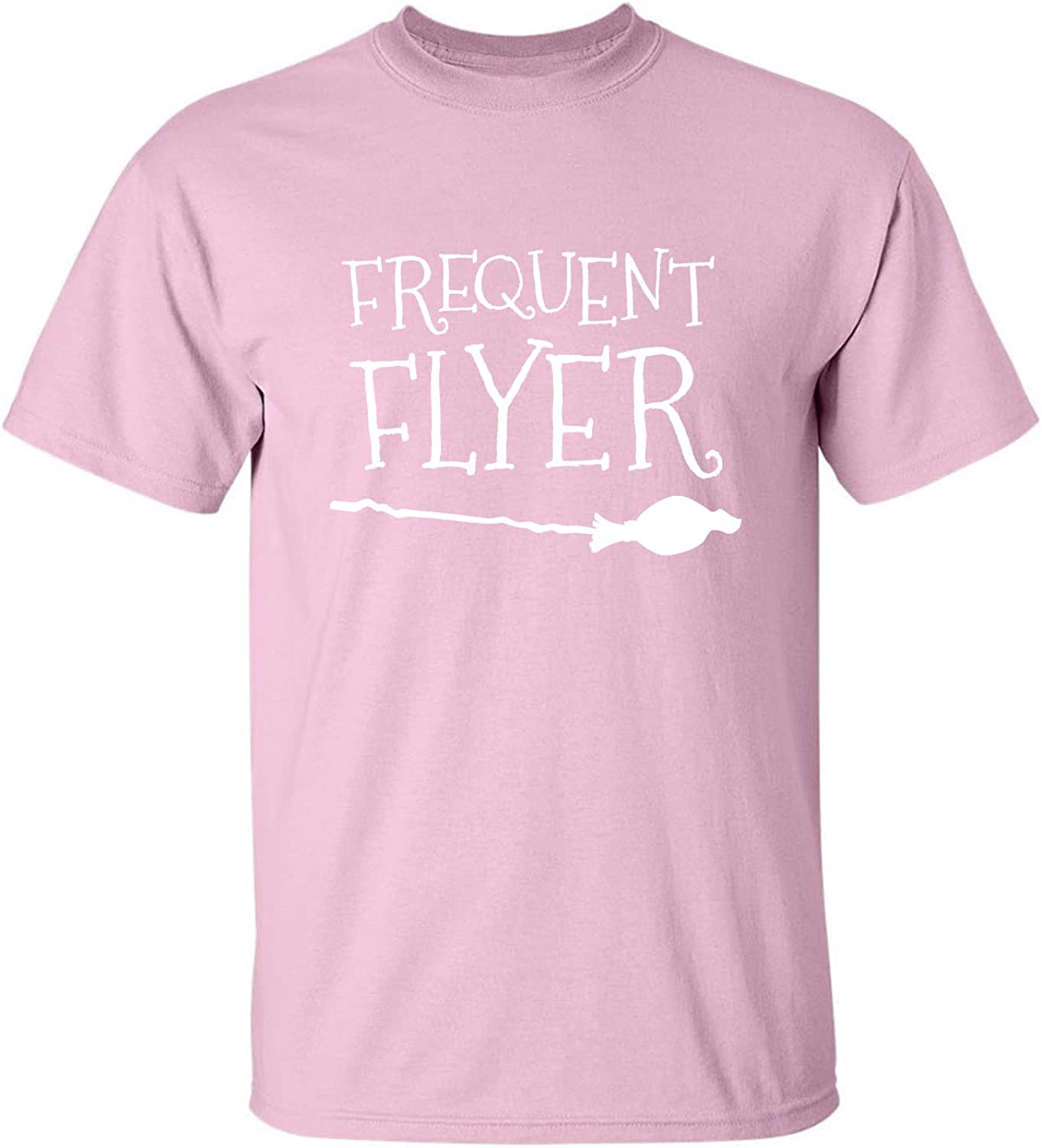 Frequent Flyer Adult T-Shirt in Pink - XXXX-Large