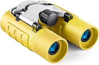 Real Binoculars for Kids Gifts for 3-12 Years Boys Girls 8x21 High-Resolution Optics Mini Compact Binocular Toys Shockproo...
